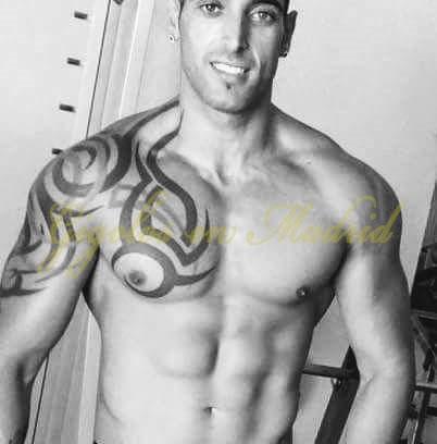 Gigoló en Madrid de cuerpo espectacular. Isaac