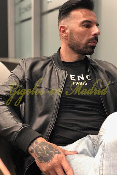 Gigoló en Madrid guapa y buen cuerpo. Piero