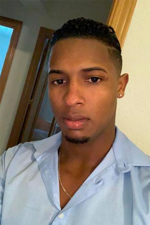 Gigoló joven dominicano. Joel